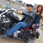 Model Portfolio Photography AF Photos LLC Motorcycle Passenger