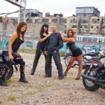 Model Portfolio Photography AF Photos LLC Motorcycle Gang Gates